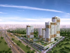 AM-115 one of real estate for sale in istanbul and the project from outside