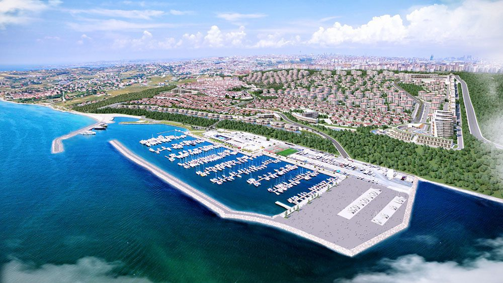 Villa for sale in istanbul AM-316 marina pic