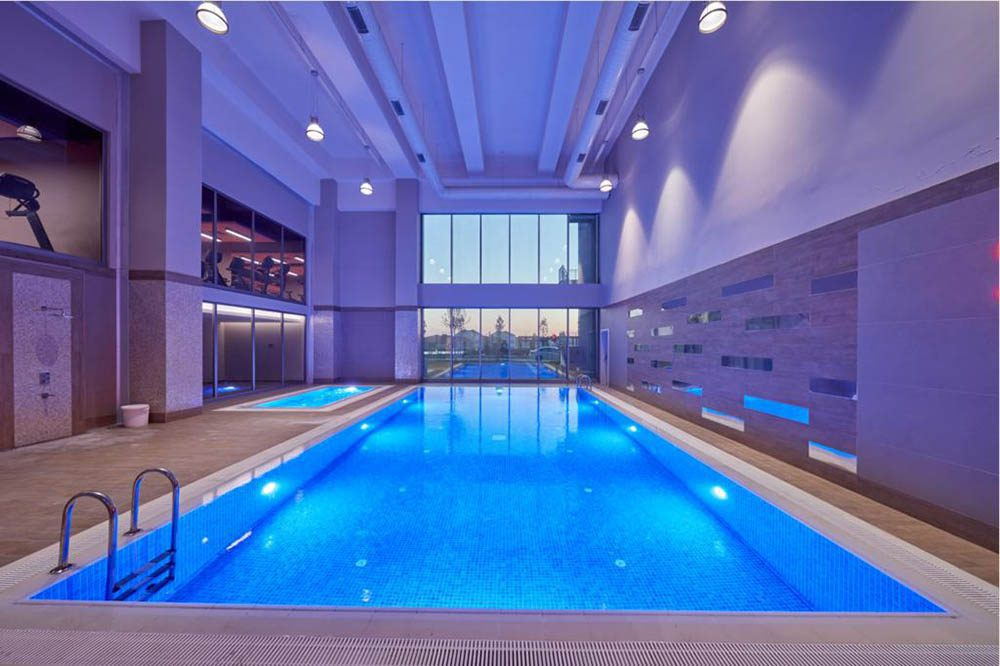 The project offer many facilities like indoor swimming