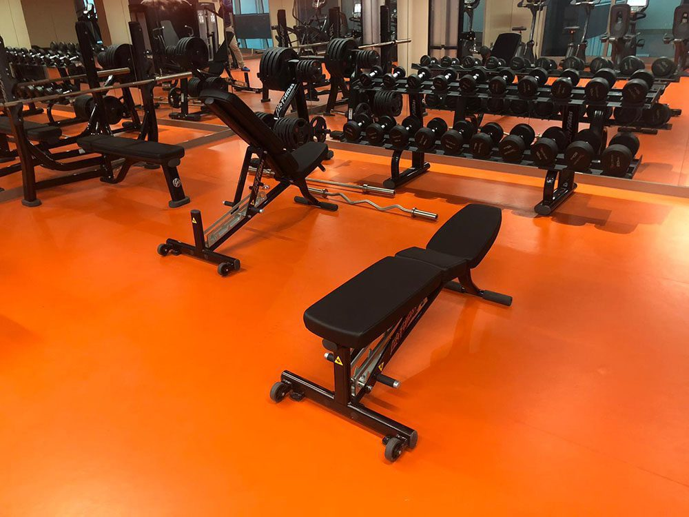The project offer many facilities like gym