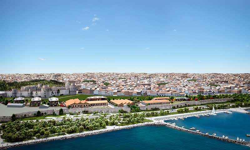 Apartment for sale in istanbul in bakirkoy