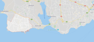 Beylikdüzü on the map from aman real estate