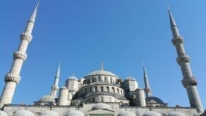 most visited places in istanbul - Blue mosque