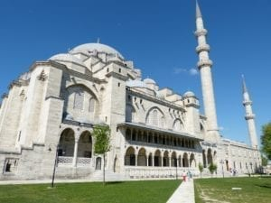 places to visit in fatih istanbul - Suleymaniye mosque