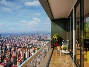high-rise apartments for sale in Istanbul Kadikoy